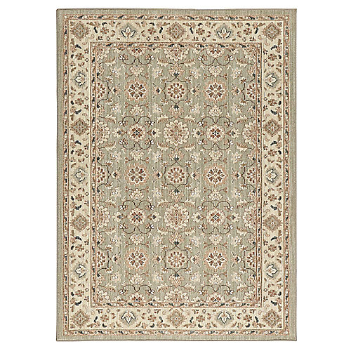 Natural Harmony Willow Grey 5 ft. x 7 ft. Indoor Area Rug