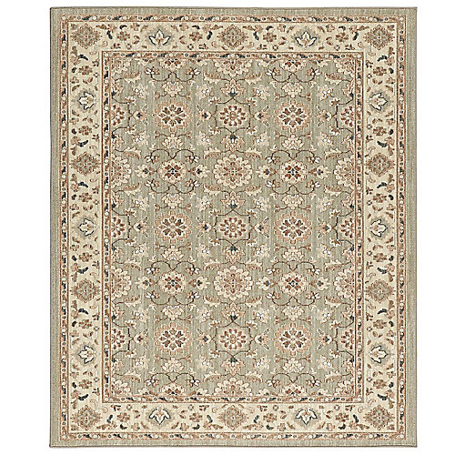 Natural Harmony Willow Grey 8 ft. x 10 ft. Indoor Area Rug