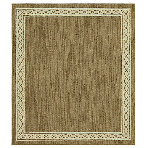 Sparrow Hazel Nut/ Bone White 8 ft. x 8 ft. Square Indoor Area Rug