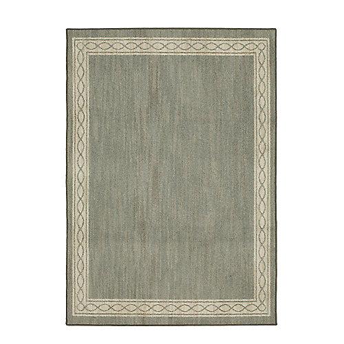Sparrow Elephant Grey/ Bone White 10 ft. x 13 ft. Indoor Area Rug
