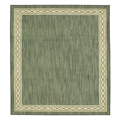 Sparrow Caster Gray/ Bone White 8 ft. x 8 ft. Square Indoor Area Rug