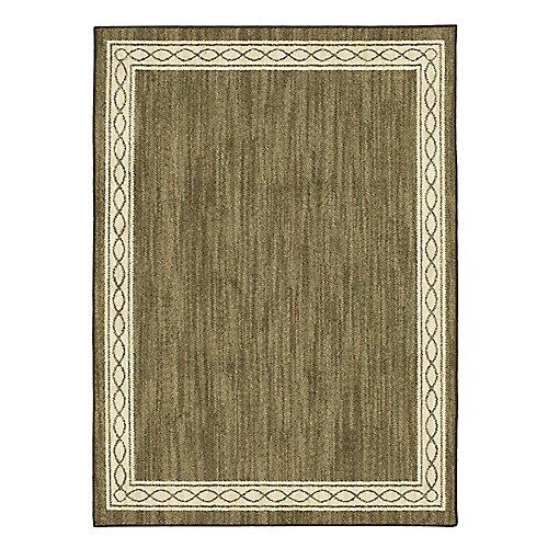 Sparrow Major Brown/ Bone White 5 ft. x 7 ft. Indoor Area Rug