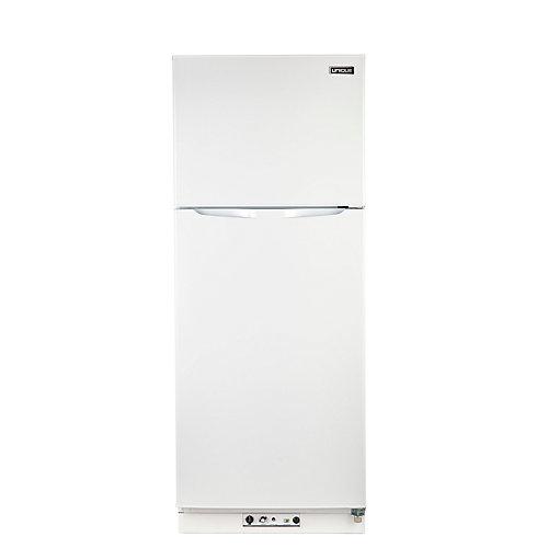 13.4 cu. ft. Propane Top Freezer Refrigerator Direct Vent in White