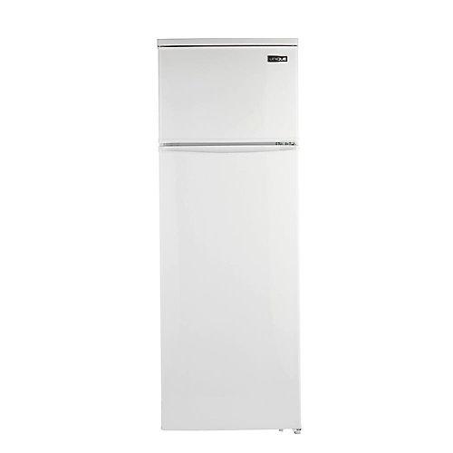 13 cu. ft. 370L Solar DC Top Freezer Refrigerator in White