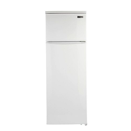 13 cu. ft. 370L Solar DC Top Freezer Refrigerator in White