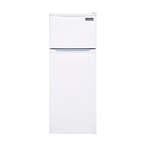 6.0 cu. ft. 170L Solar DC Top Freezer Refrigerator Danfoss/Secop Compressor in White