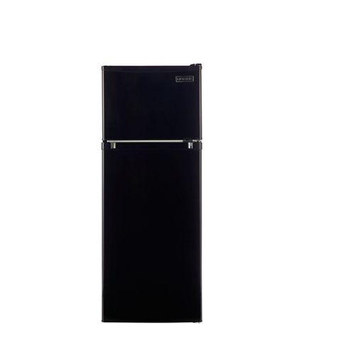 6.0 cu. ft. 170L Solar DC Top Freezer Refrigerator Danfoss/Secop Compressor in Black