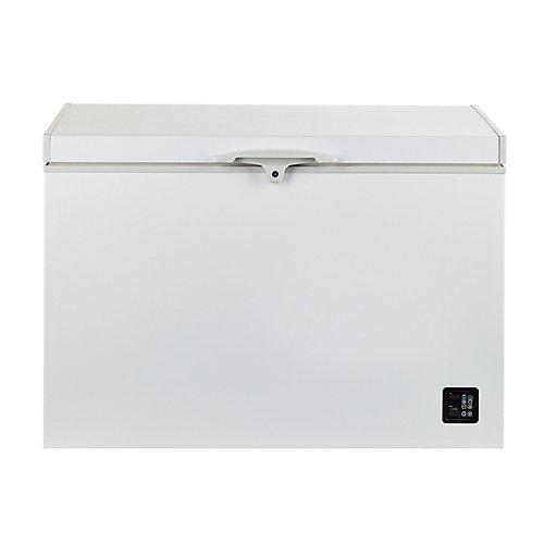 9.3 pi. Cu. 265L Solaire congélateur horizontaux compresseur Danfoss/Secop Blanc