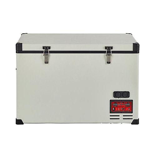 2.8 pi. Cu. 80L Réfrigérateur-Congélateurs compacts portatif C.A./C.C. compresseur Danfoss/Secop