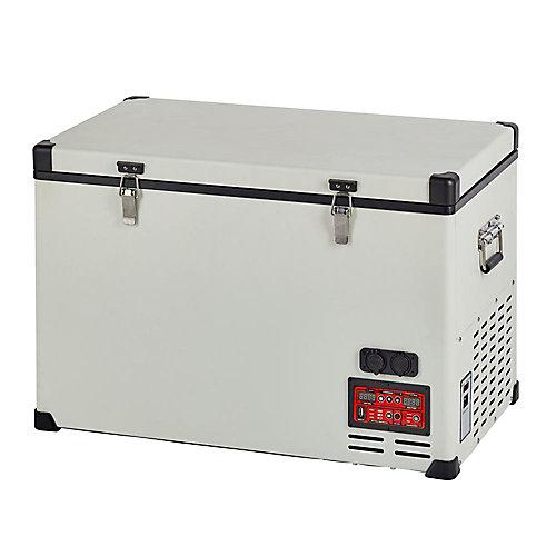 2.3 ppi. Cu. 65L Réfrigérateur-Congélateurs compacts portatif C.A./C.C. compresseur Danfoss/Secop