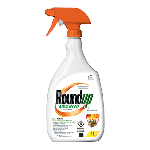 Ready-To-Use 1L Advanced Grass and Weed Control Spray