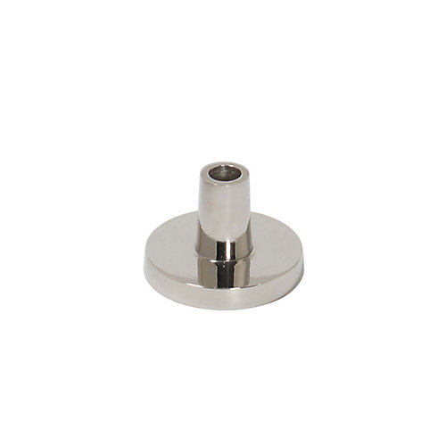 Gettys Nickel Aluminium Modern Candle Holder