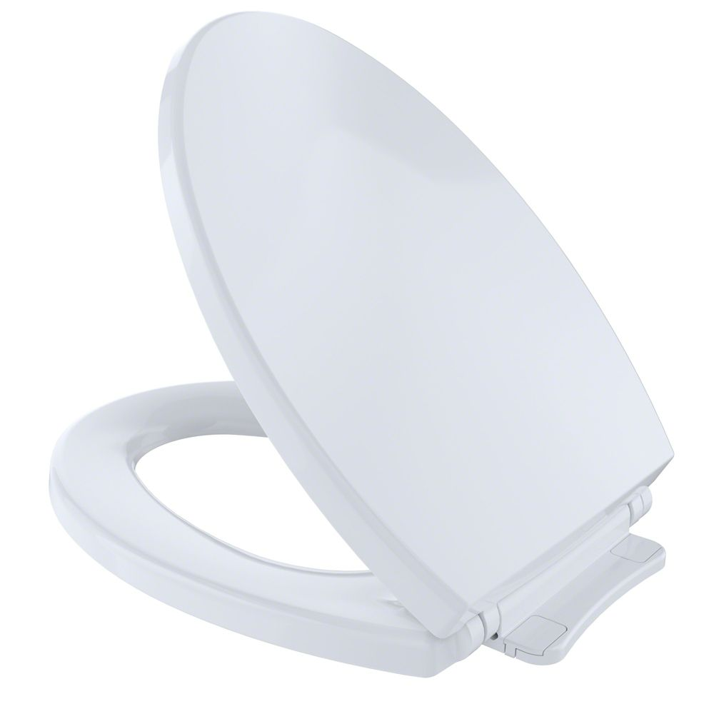 Strange Softclose Non Slamming Slow Close Elongated Toilet Seat And Lid Cotton White Gamerscity Chair Design For Home Gamerscityorg