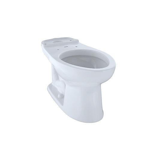 Eco Drake and Drake ADA Height Elongated Toilet Bowl, Cotton White