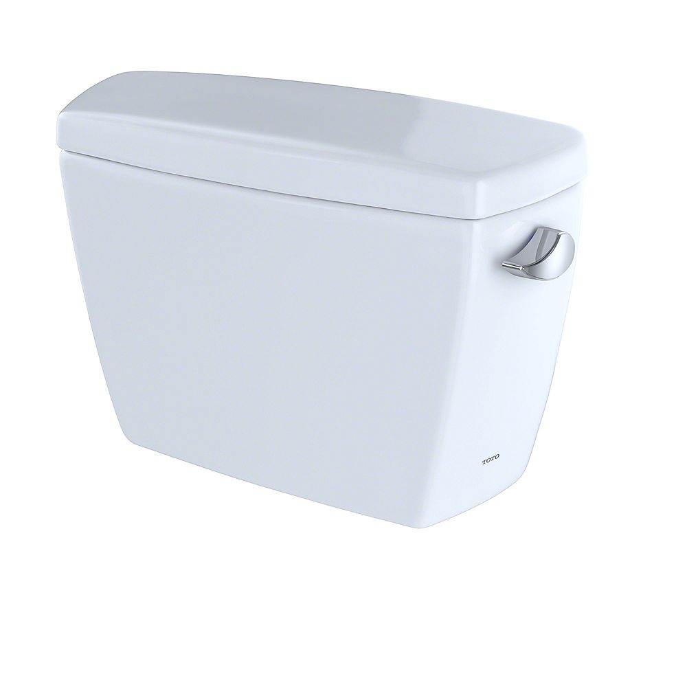 TOTO Drake G-Max 1.6 GPF Toilet Tank with Right-Hand Trip Lever, Cotton White