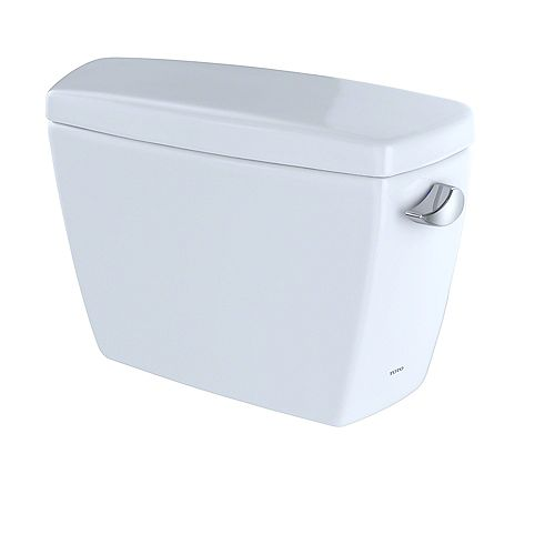 Drake G-Max 1.6 GPF Toilet Tank with Right-Hand Trip Lever, Cotton White