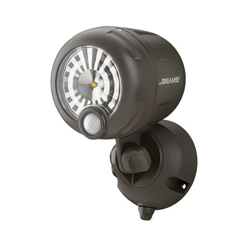 Wireless Motion Sensor LED XT Spotlight - Brown - 200 lumens - Multi-Purpose