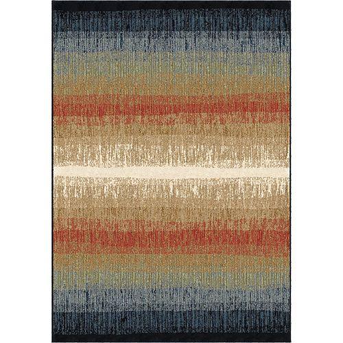 Orian Rugs Rouleau de tapis Skyline multi- 2pi 3 po par longueur personnalisée