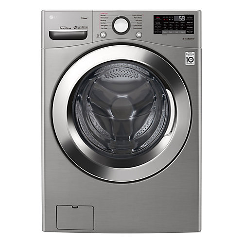 5.2 cu. ft. Ultra Large Capacity Front Load Washer with Steam in Graphite Steel - ENERGY STAR®