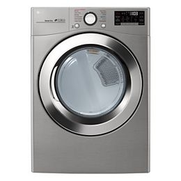 7.4 cu. ft. Smart Electric Dryer with Ultra Large Capacity and Wi-Fi in Graphite Steel, Stackable