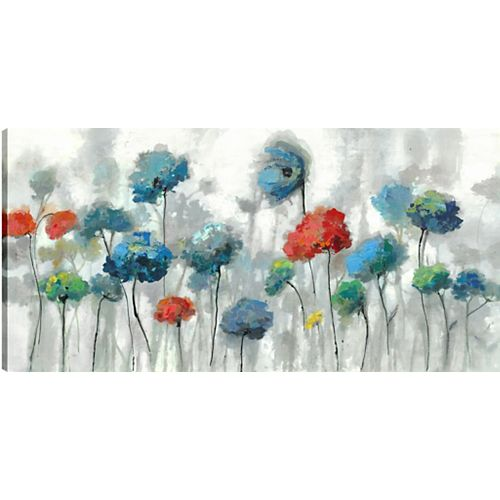 The Flowers, Canvas Print, Unframed