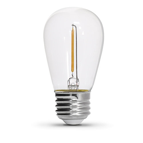 10-Light 20 ft. Integrated LED Outdoor String Light