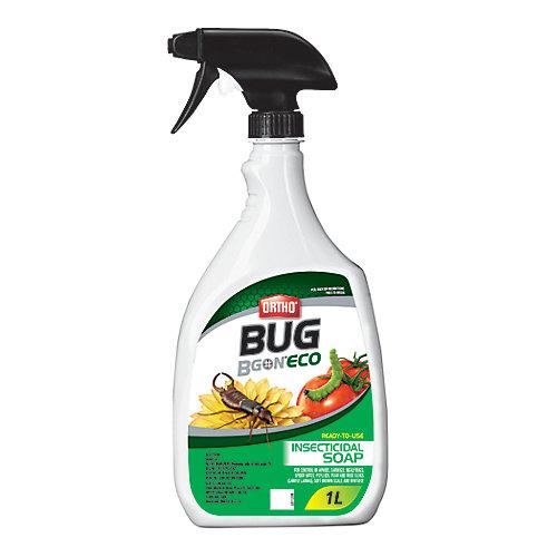 Bug B Gon Eco Savon Insecticide Prêt À L'Usage 1 L