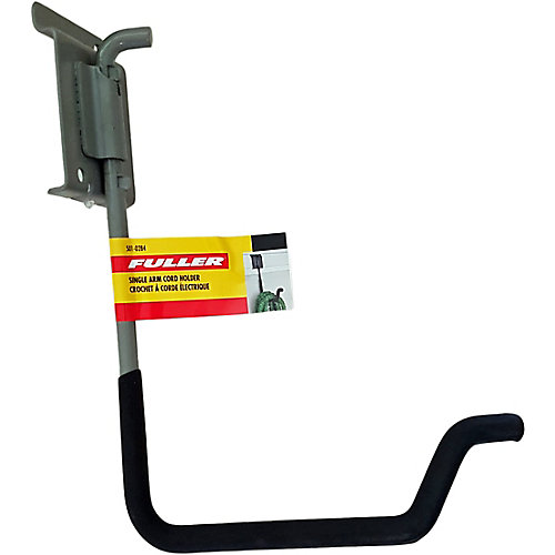 Single-Arm Electrical Cord Holder with Foam Rubber Padding