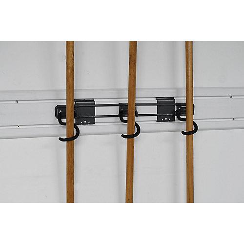 3-Hook Wall-Mounted Tool Holder