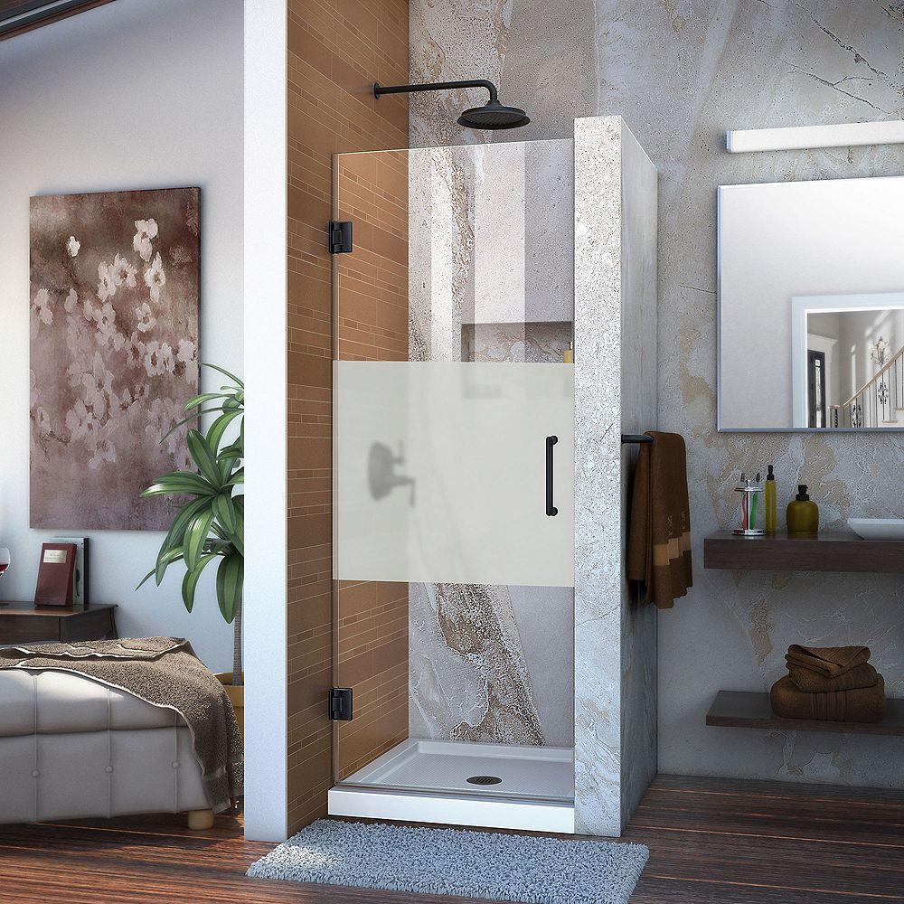 DreamLine Infinity-Z 81.28 cm D x 152.4 cm W x 189.865 cm. H Porte de Douche en Nickel Brossé