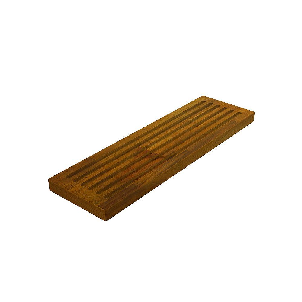 INTERBUILD Acacia, Butt Edge Chopping Board, Golden Teak, 150x500x26mm 6 inch x 20 inch x 1 inch