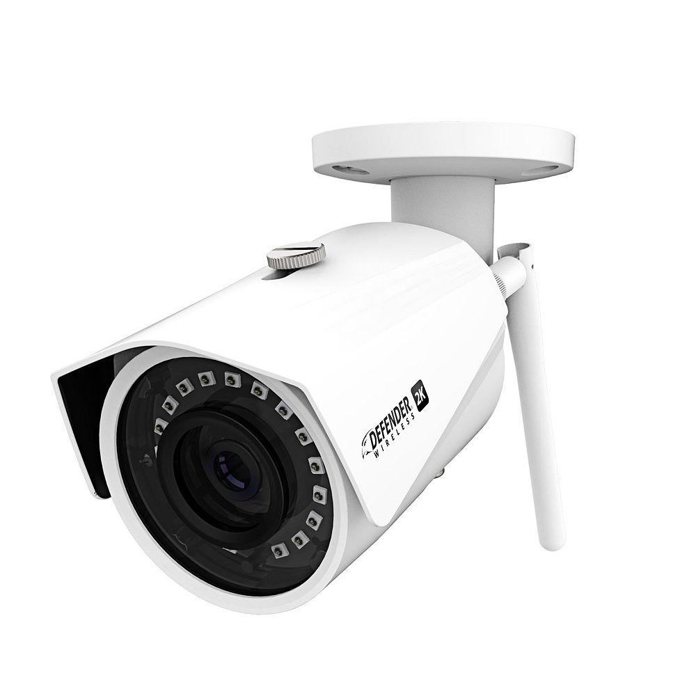 Defender Caméra grand angle sans fil 2K (4MP)