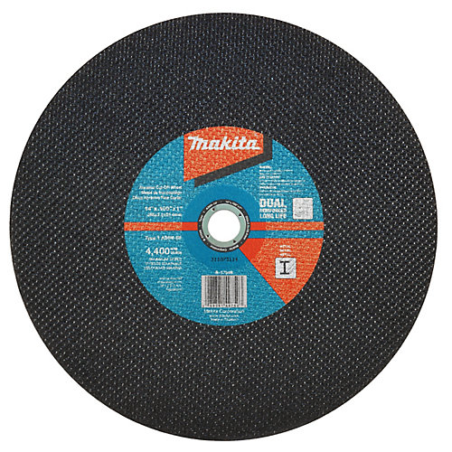 14 inchX0.10 inchX1 inch Abrasive Cut-Off Wheel A36N-Bf 25/Se