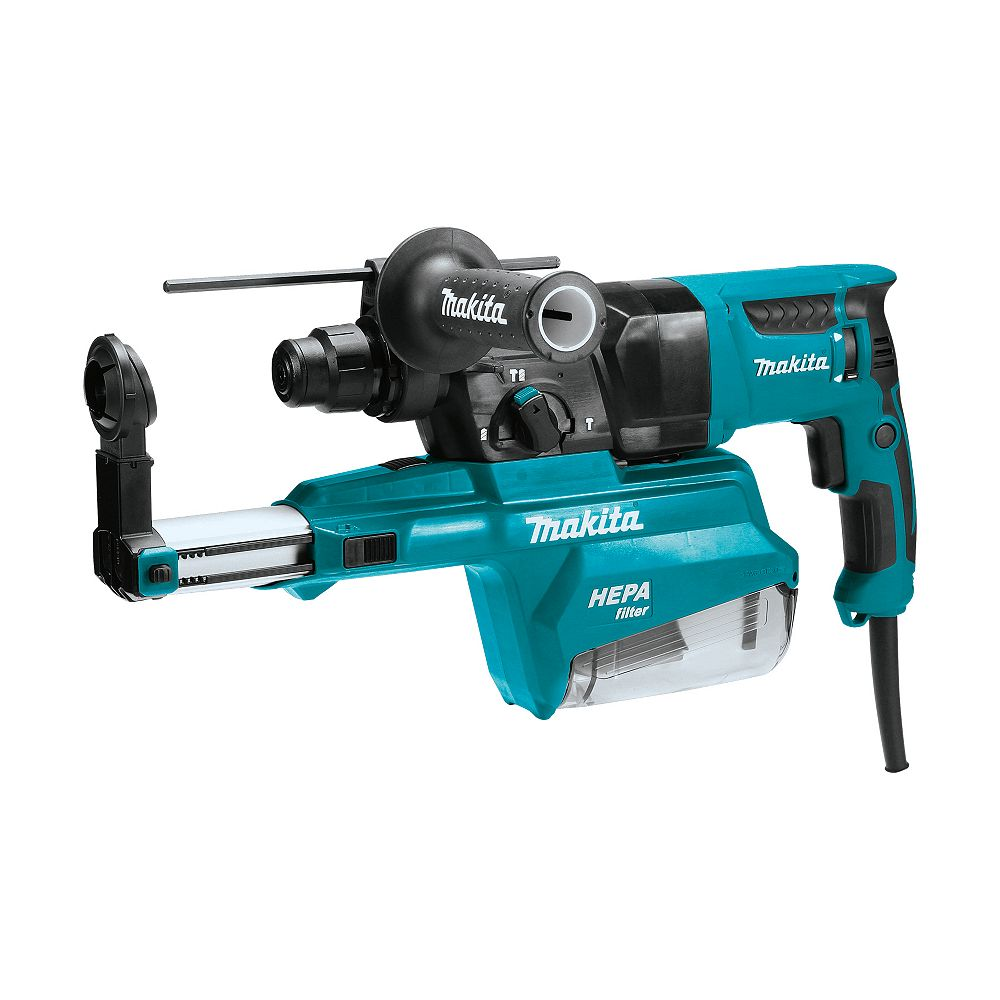 MAKITA 1 inch Rotary Hammer SDS-Plus W/ Dust Extraction (Pistol)