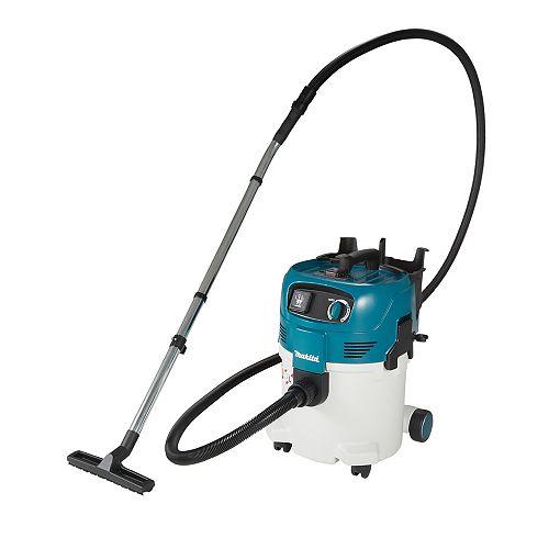 MAKITA Dépoussiéreur compact Push & Clean sec/humide 30 L (classe L)