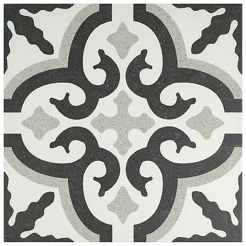 Merola Tile Jaen 9-3/4-inch x 9-3/4-inch Porcelain Floor and Wall Tile (11.11 sq. ft. / case)