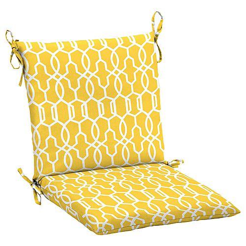 Vase Lattice Dining Chair Cushion