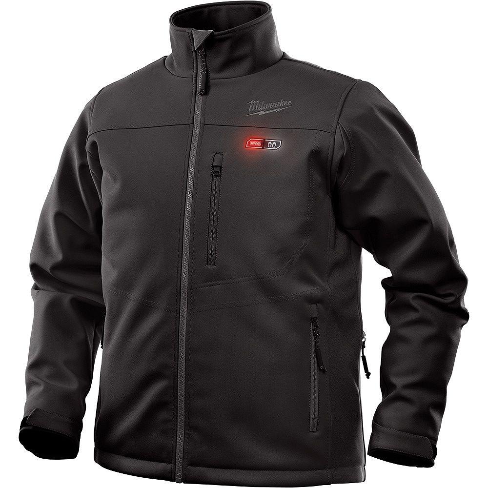 Milwaukee Tool Hommes 2X-Large M12 12V M12 12V Lithium-Ion sans fil noir veste chauffante (veste seulement)