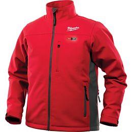 Hommes M12 12V Lithium-Ion sans fil rouge veste chauffante sans fil (veste seulement)