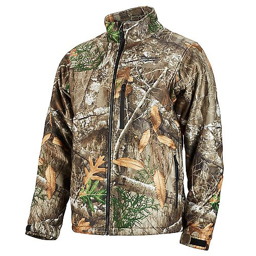 Men's Large M12 12V Lithium-Ion Cordless Realtree Camo Heated Jacket (Jacket Only)