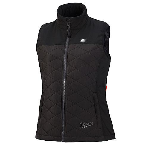 Gilet matelassé au lithium-ion AXIS noir chauffant M12 12V 12V sans fil pour femme (veste seulement)