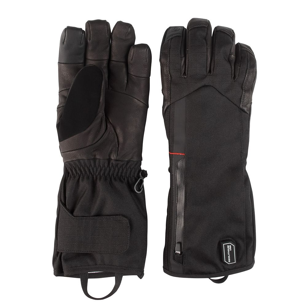 Milwaukee Tool X-Large Rechargeable Heated Gloves with REDLITHIUM USB Battery and Charger