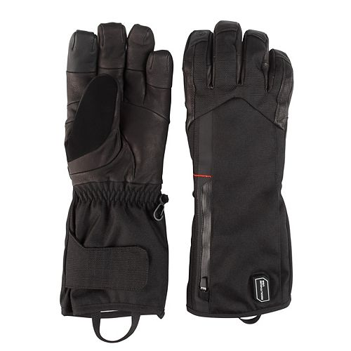 Medium Black Heated Gloves with Battery and Charger
