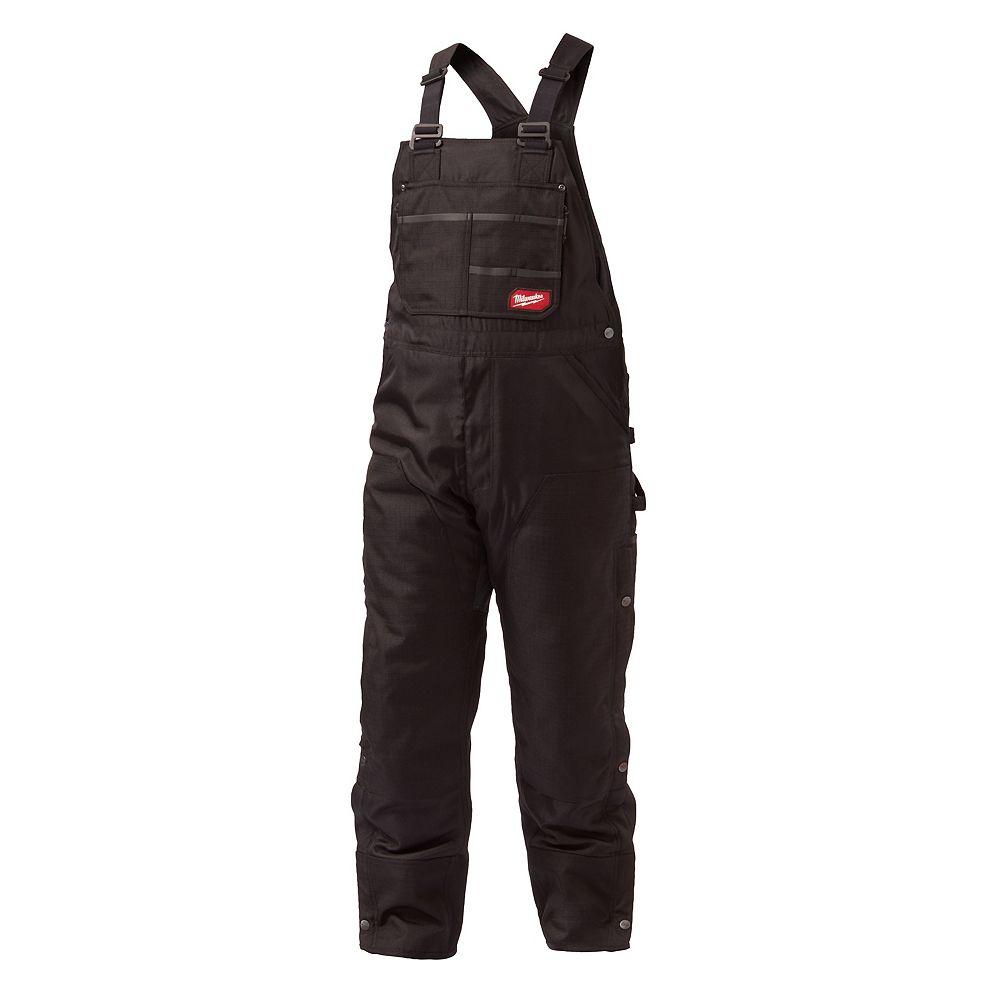 Milwaukee Tool Hommes GRIDIRON 3XL Cuissard à bretelles zippé noir à haut bretelles