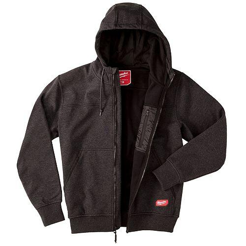 Milwaukee Tool Men's Small Black NO DAYS OFF Hooded Sweatshirt