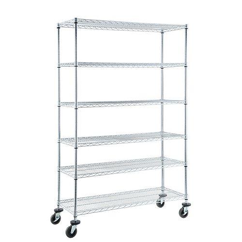 Heavy Duty 6-Shelf Storage Unit