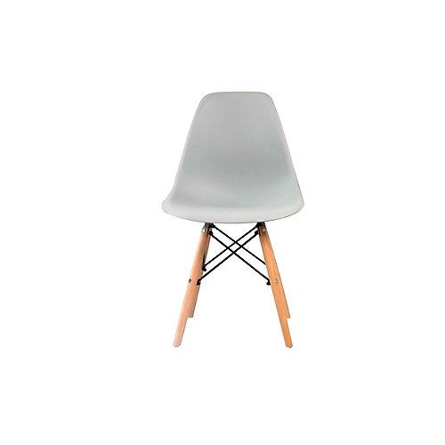 Eiffel Modern Dining Chair in Grey (Set of 2)