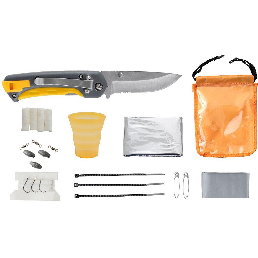Smiths Équipement de survie en plein air de couteau