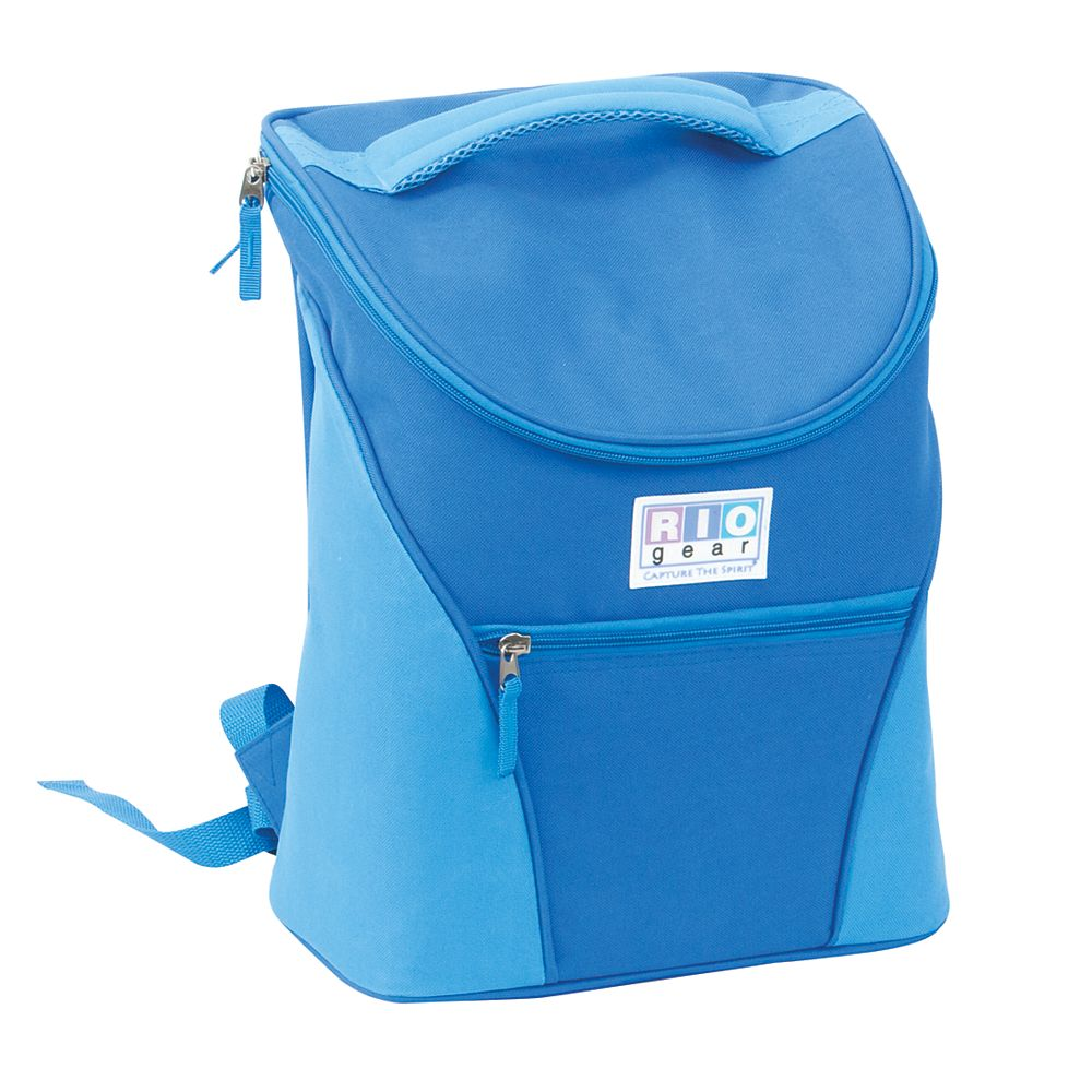 RIO Brands Insulated Backpack Cooler - (Blue)