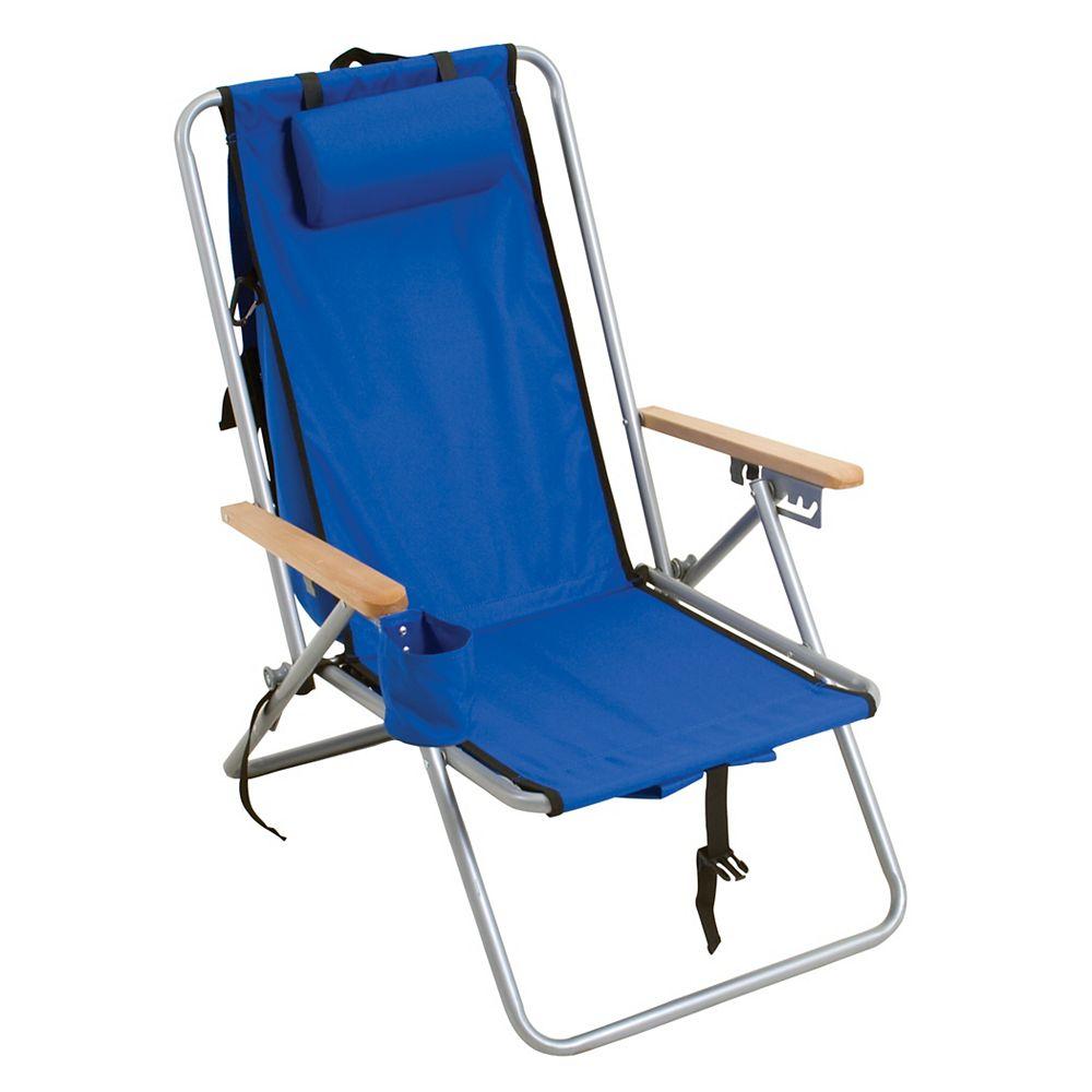 RIO Brands Chaise Sac À Dos En Acier -  Bleu